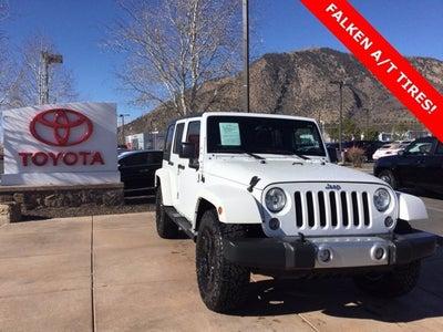 2015 Jeep Wrangler Unlimited Sahara Flagstaff Az Area Toyota Dealer Serving Flagstaff Az New And Used Toyota Dealership Serving Sedona Page Prescott Az